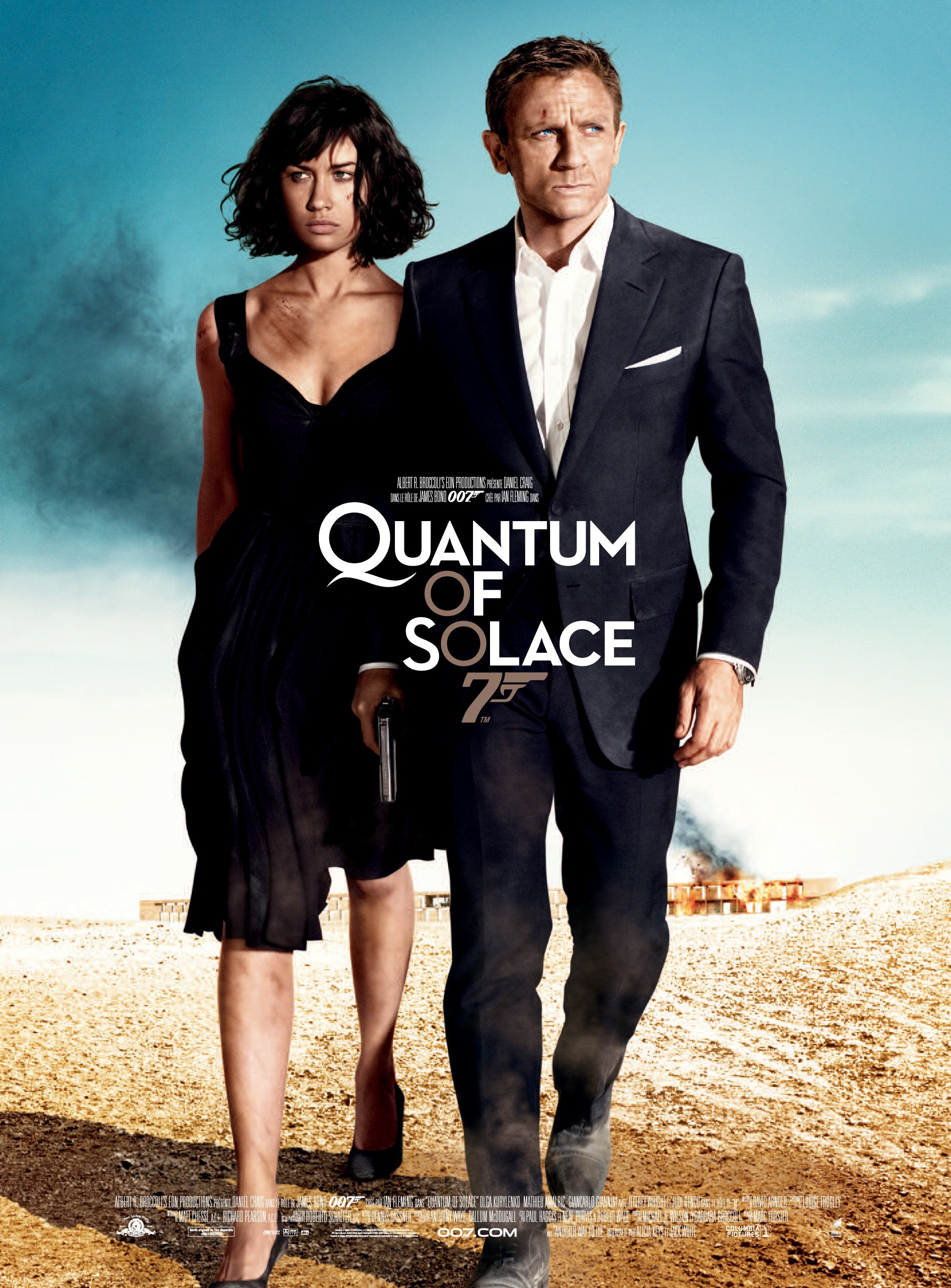 Affiche du film Quantum of Solace 007